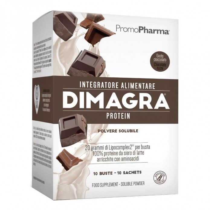 DIMAGRA PROT.Cacao 10 Bust.