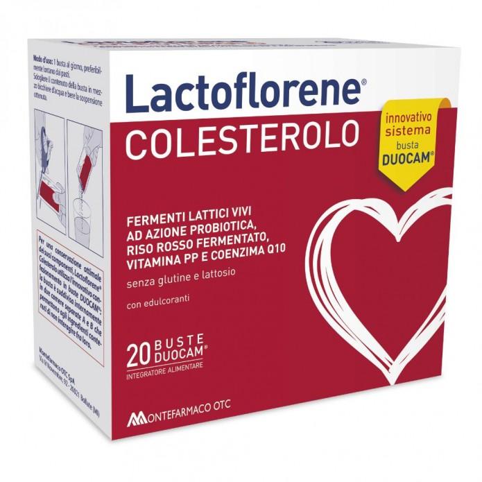 LACTOFLORENE COLESTEROLO 20BS