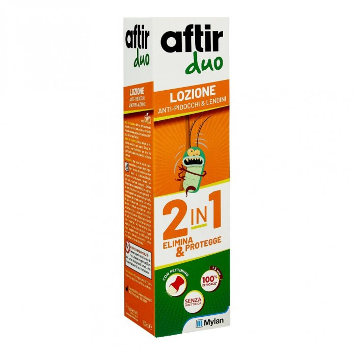 Aftir Duo Lozione 100 ml - Trattamento antipidocchi