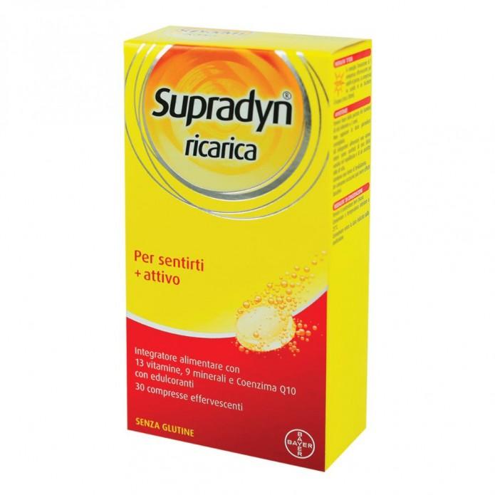 Supradyn Ricarica 30 compresse effervescenti Integratore di vitamine e sali minerali