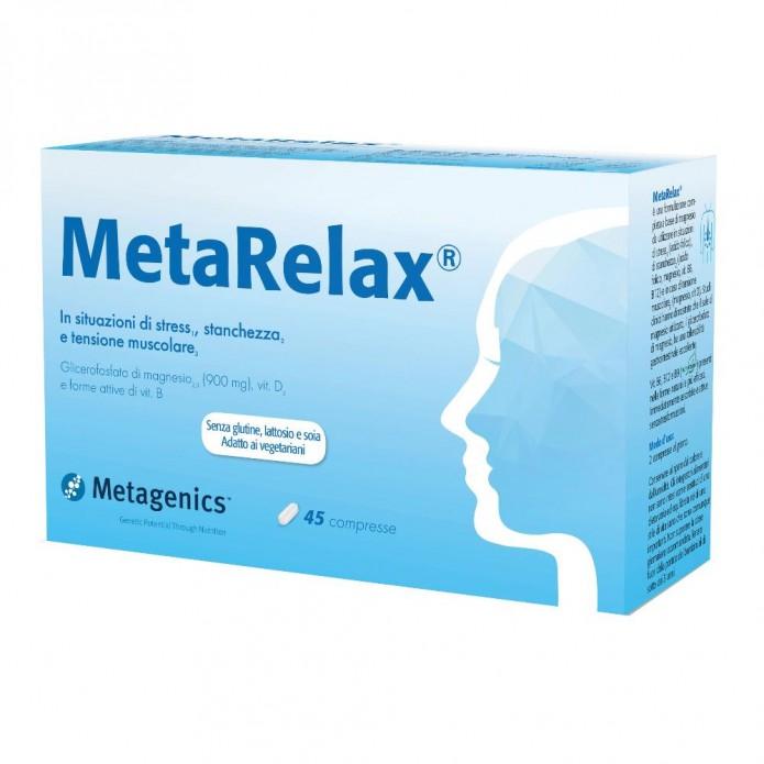 MetaRelax New 45 compresse Integratore per stress, stanchezza e affaticamento
