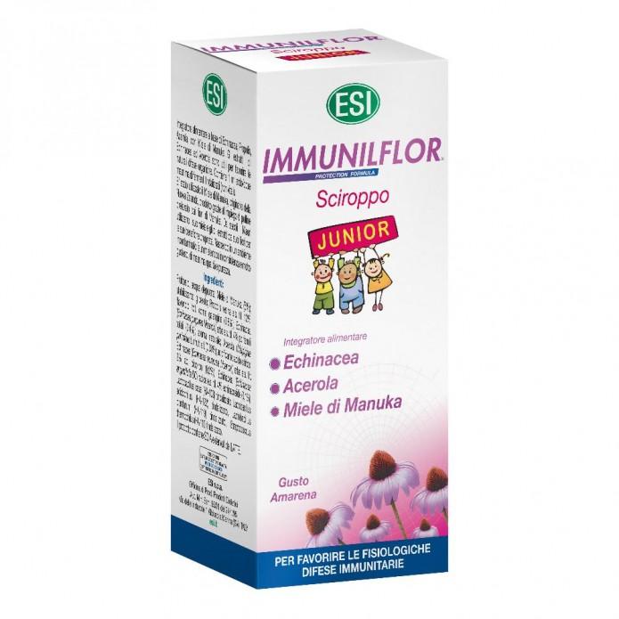 Immunilflor Sciroppo Junior Echinacea 180 ml - Immunostimolante per bambini