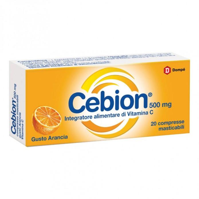CEBION MAST ARAN VIT C 20CPR