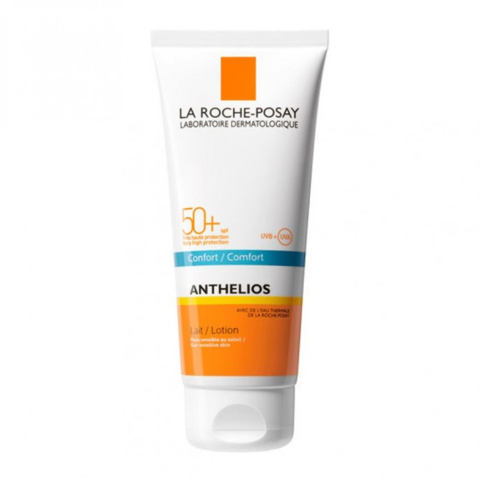 Anthelios Latte SPF 50+ 100ml Protezione solare molto alta per viso e corpo