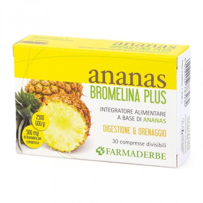 ANANAS BROMELINA PLUS 30CPR FDR