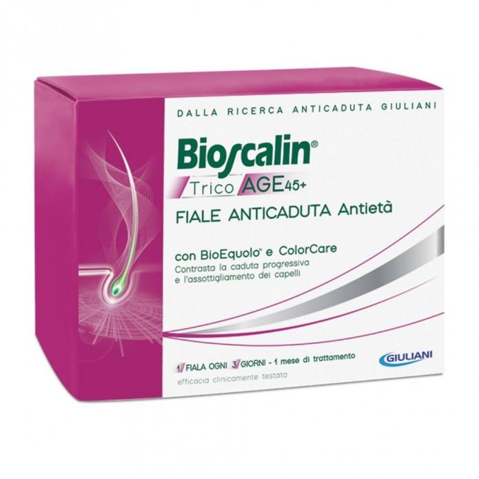 Bioscalin Tricoage 45+ 10 Fiale - Fiale Anticaduta Antietà