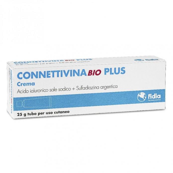 ConnettivinaBio Plus crema 25 g Crema per trattamento lesioni cutanee