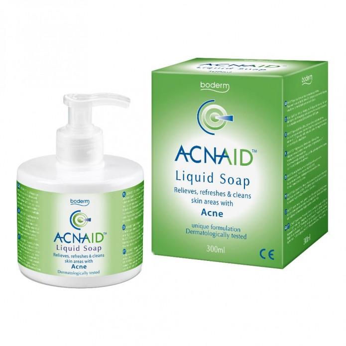 Acnaid sapone liquido 300 ml Detergente viso per cute grassa e acne