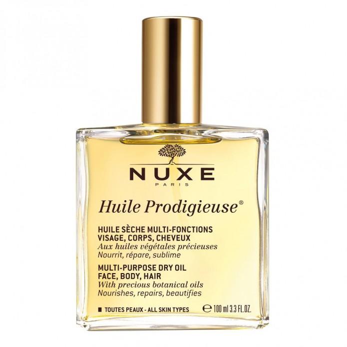 Nuxe Huile Prodigieuse 100 ml Olio riparatore e idratante per pelle e capelli