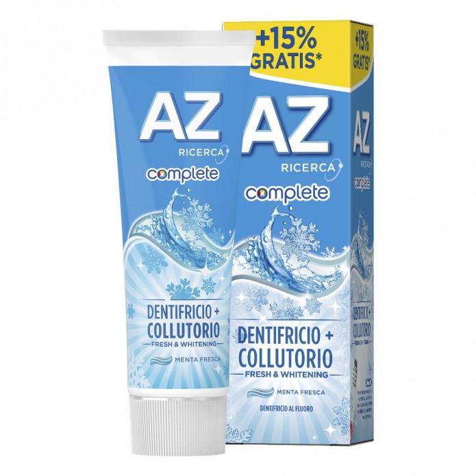 Az Complete Oral B Dentifricio + Collutorio Fresh&Whitening 75 ml