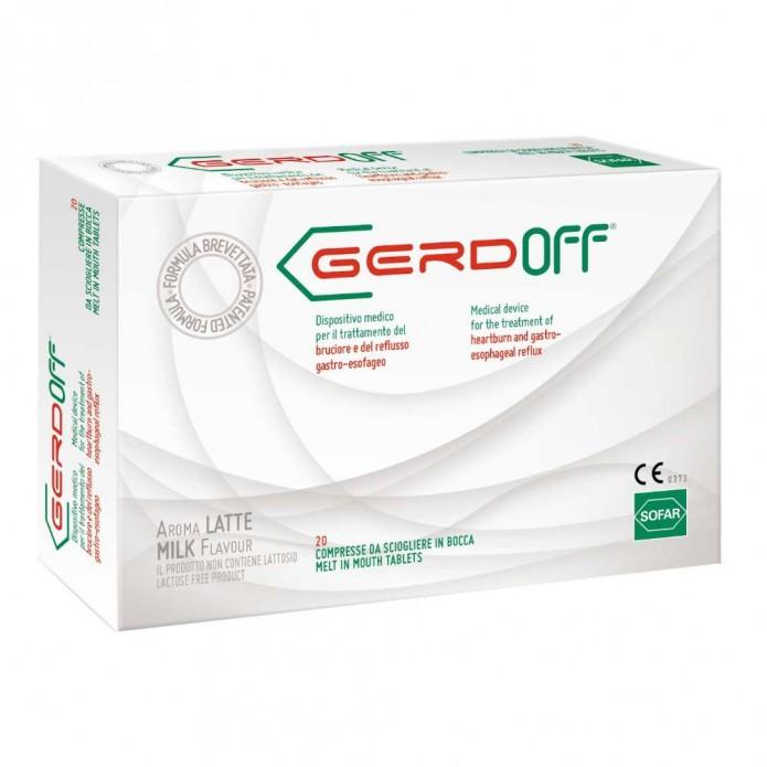 GERDOFF GUSTO LATTE 20CPR