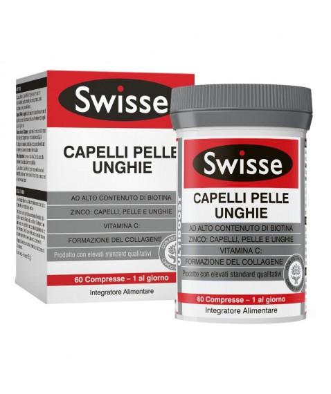 Swisse Capelli Pelle Unghie 60 compresse Integratore per pelle, capelli e unghie