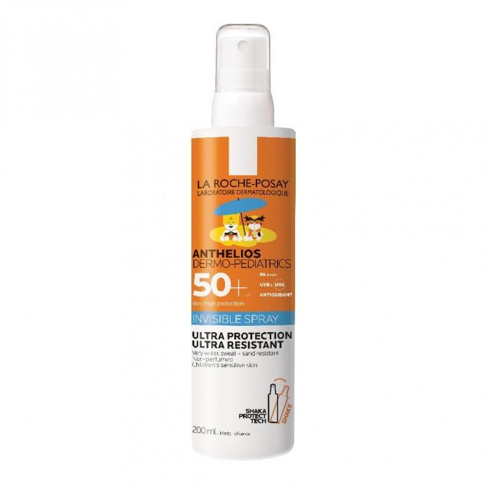 Anthelios Pediatrics Spray Invisibile SPF 50+ 200 ml Spray solare invisibile per bambini