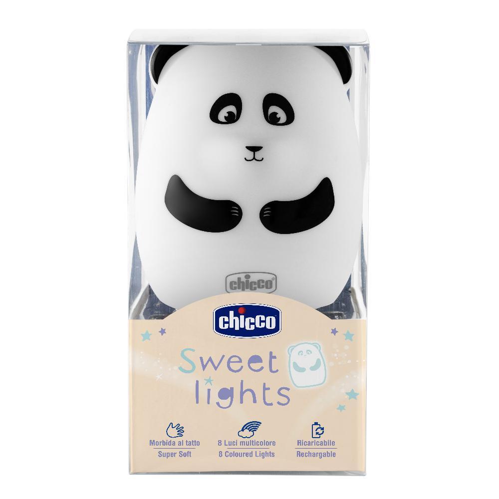 artsana chicco ch luce panda ricaricabile